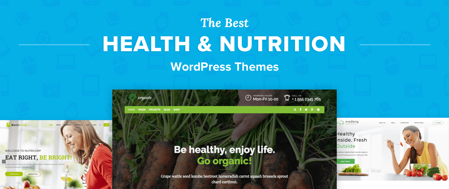 Nutrition WordPress Themes
