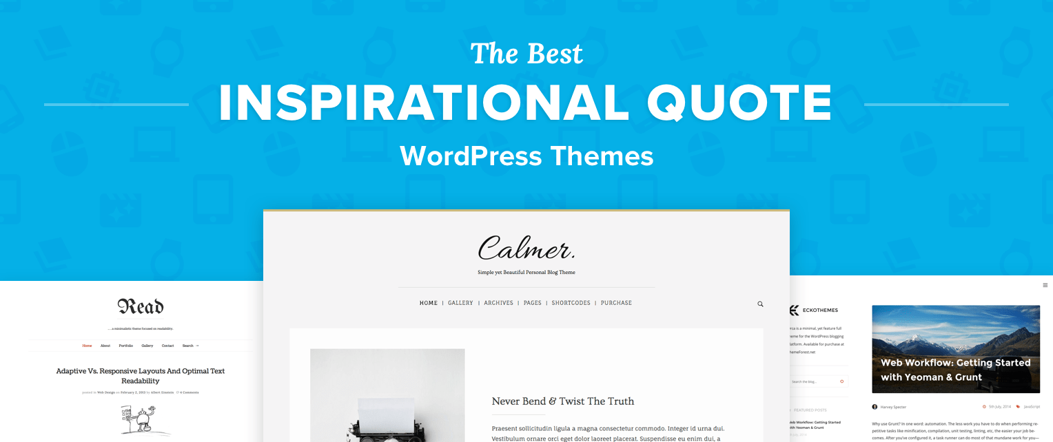 Wordpress Quote Themes