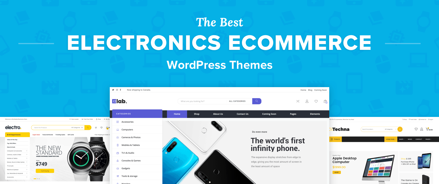 Electronics WordPress Themes