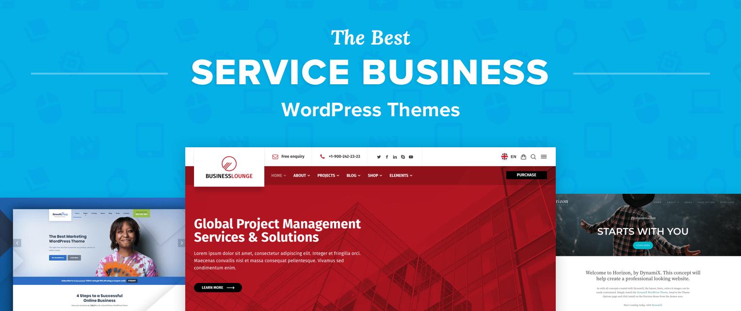 Service Business WorPress Themes