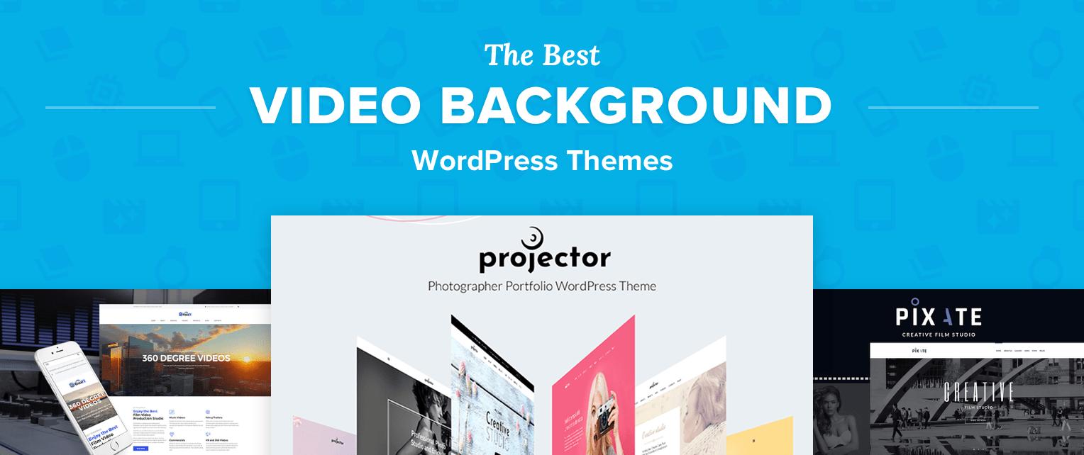 Video Background WordPress Themes
