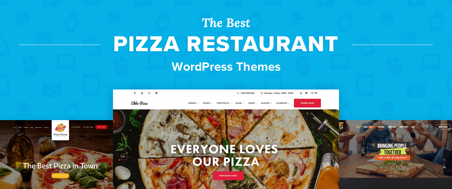 Best Pizzeria WordPress Themes