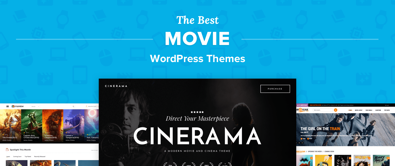 Best WordPress Movie Themes