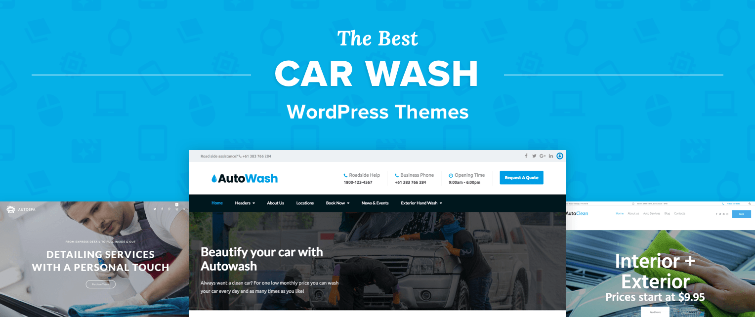 Car Wash WordPress Themes