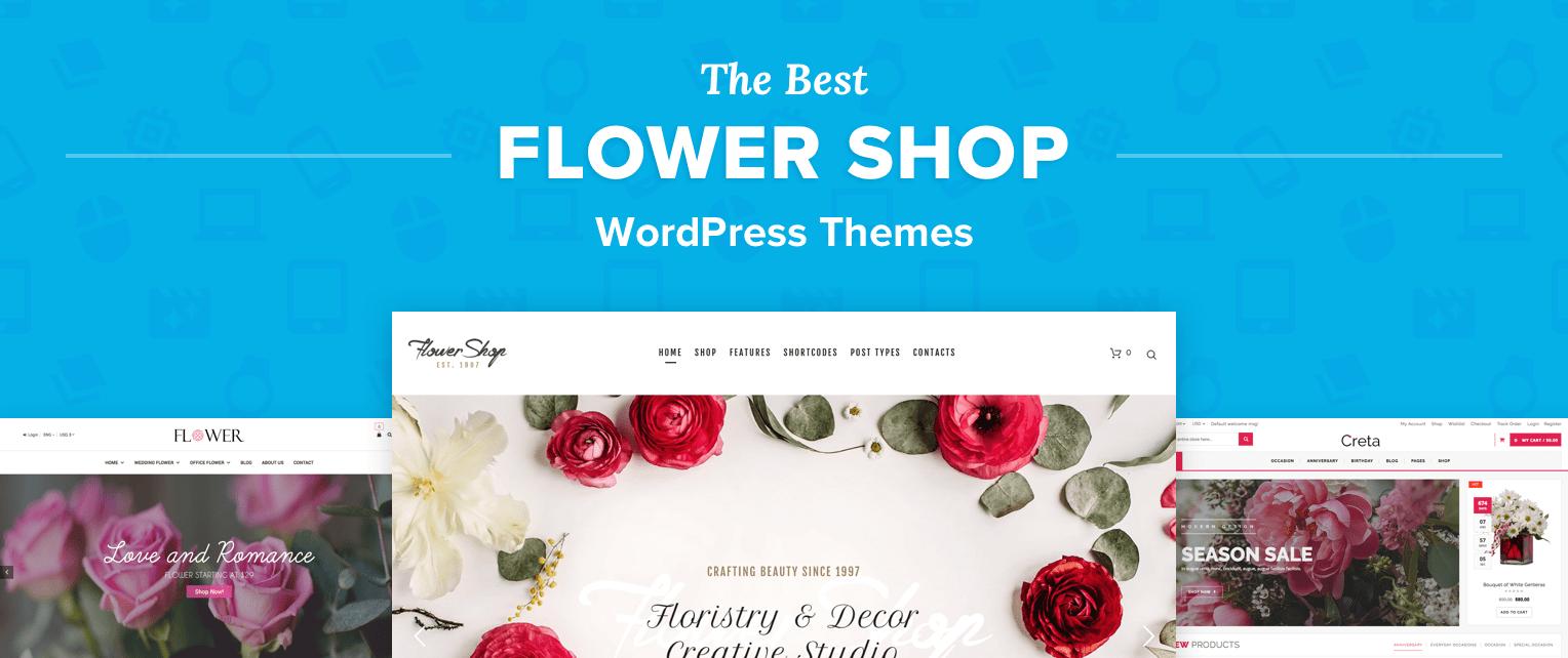 Flower Shop Wordpress Themes