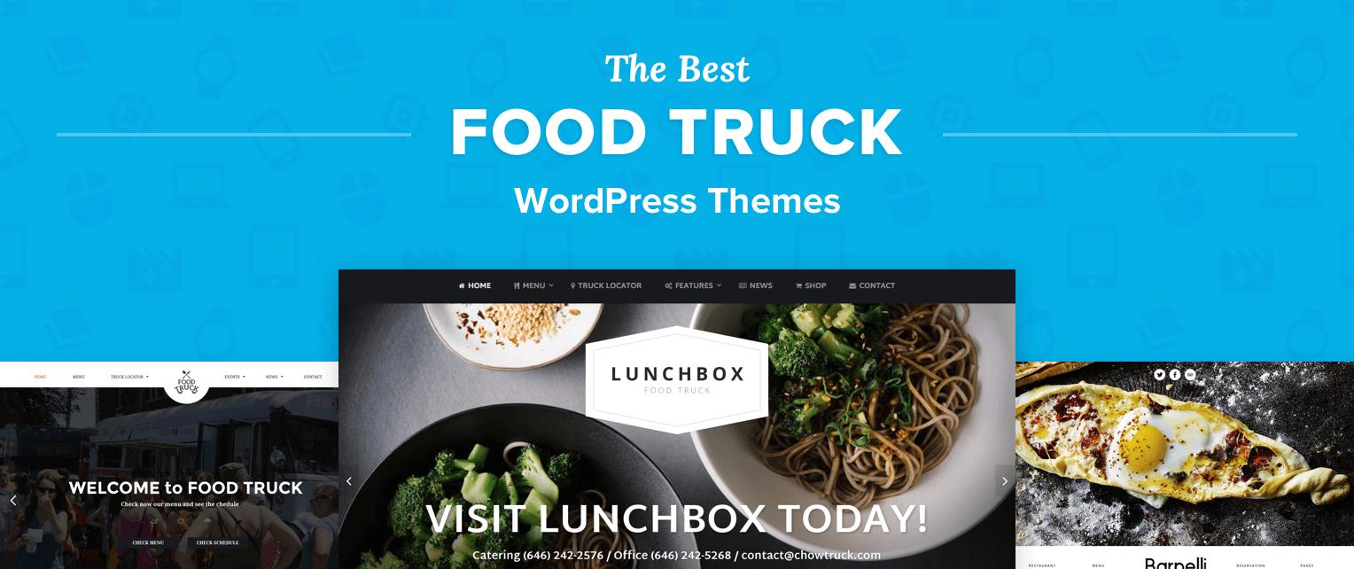 Food Truck WordPress Themes