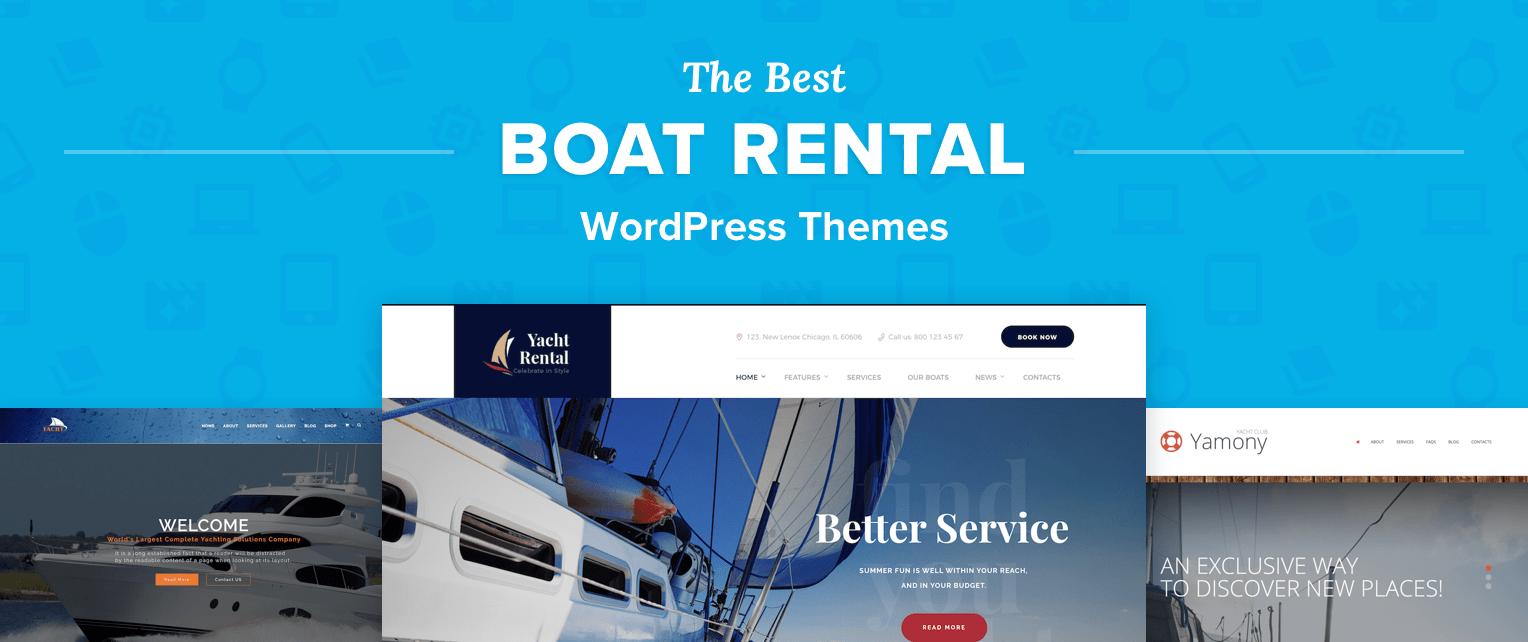 Boating WordPress Themes