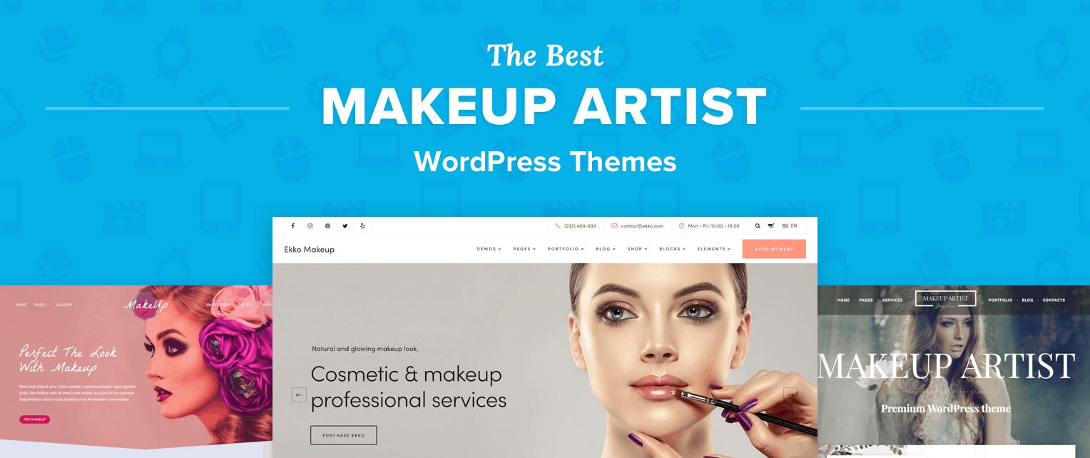 Makeup Artist WordPress Themes