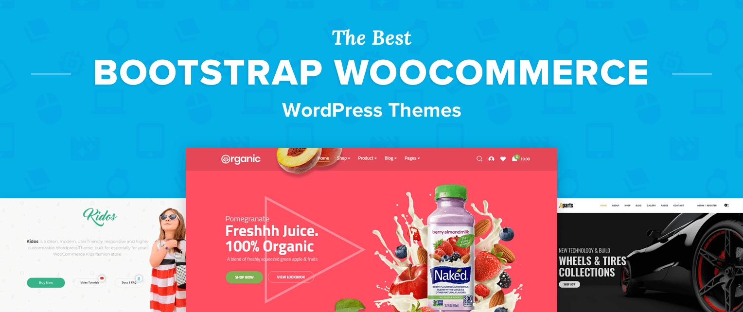 Bootstrap WooCommerce WordPress Themes