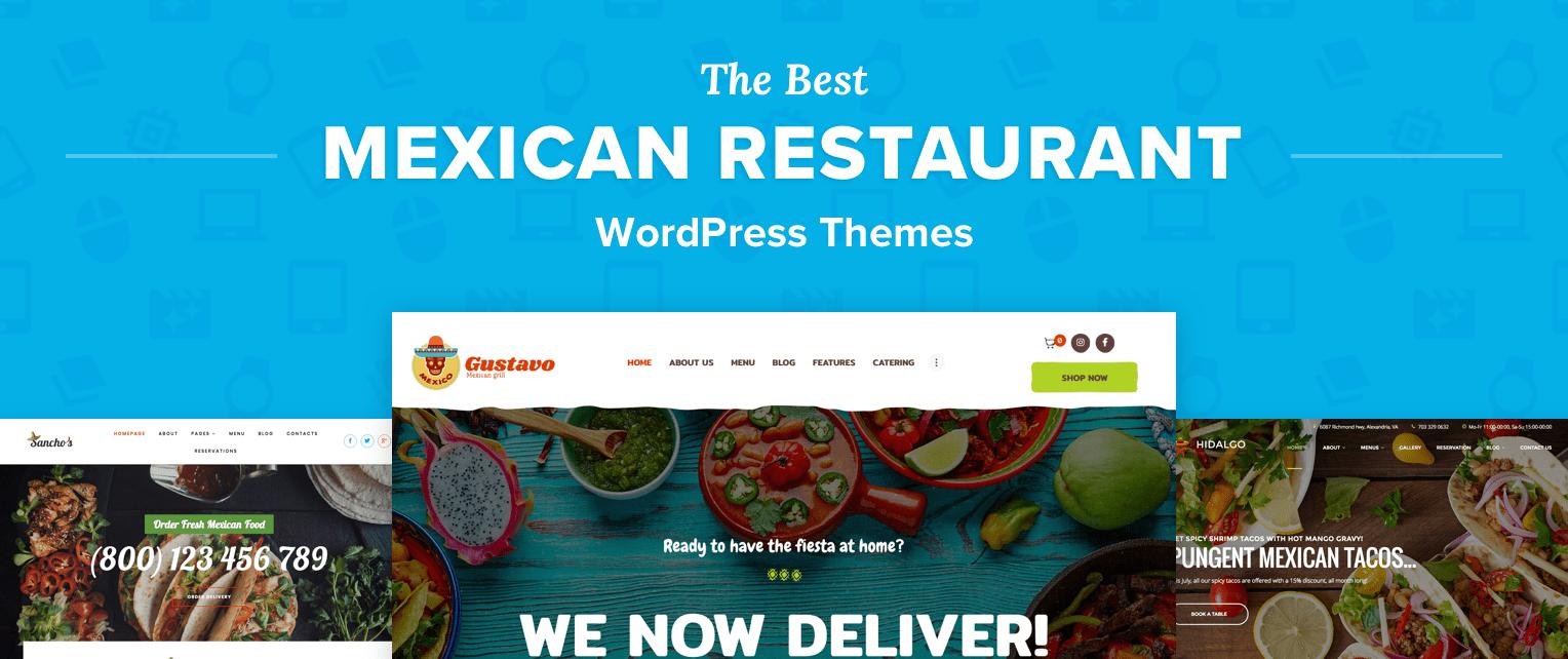 Mexican Restaurant Wordpress Themes