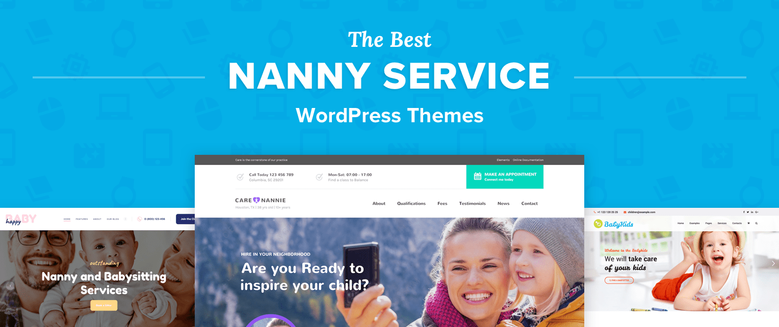 Nanny WordPress Themes