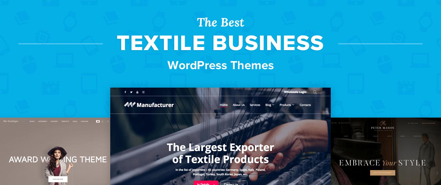 Textile WordPress Themes