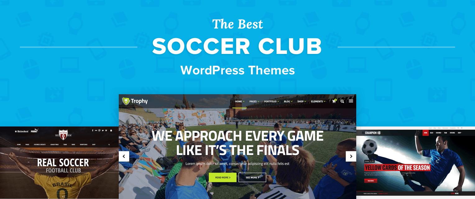 Best Soccer Club WordPress Themes