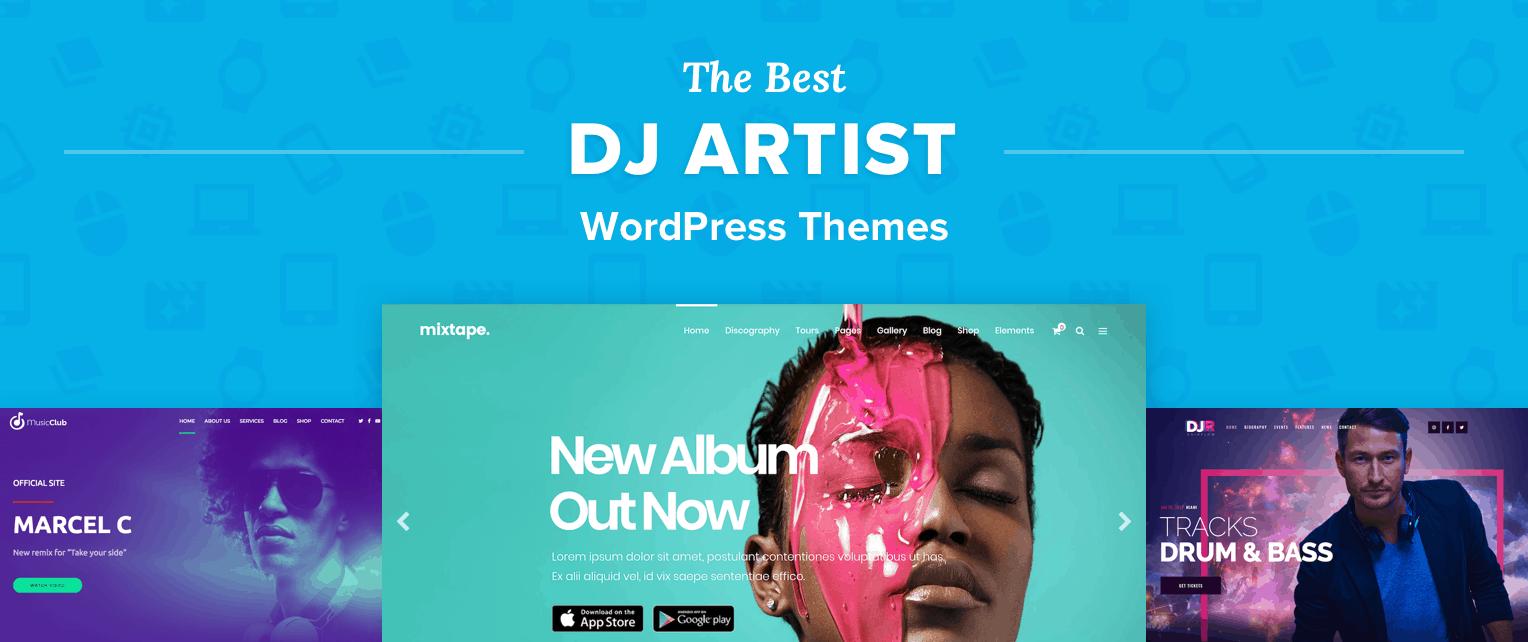 Best DJ WordPress Themes