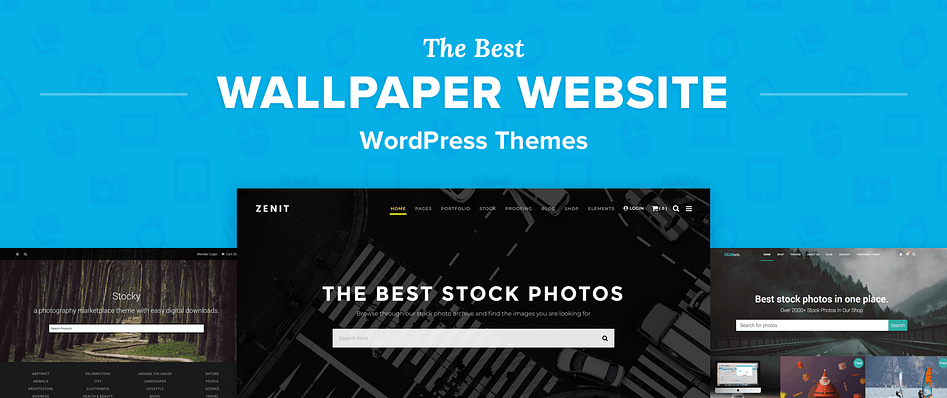 Top 5 Best Wordpress Themes For Wallpaper Websites In 2018