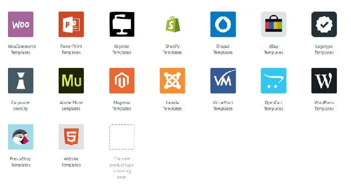 Marketeplace Icons