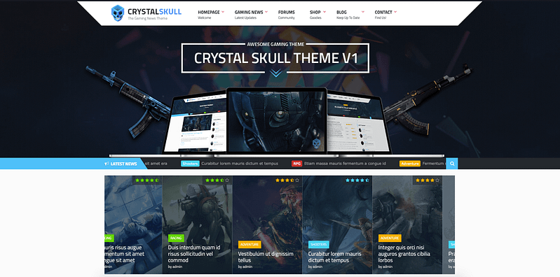 Crystal Skull theme