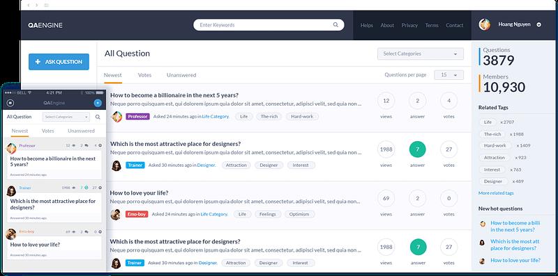 QAEngine Homepage