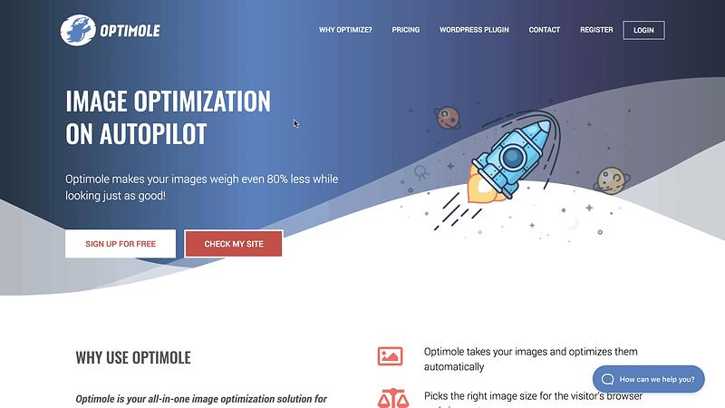 Optimole Website