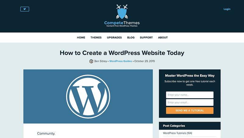 Make WordPress Website