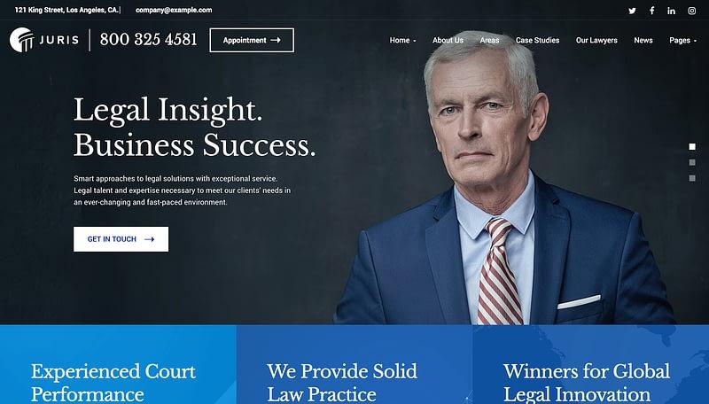 Juris law firm theme