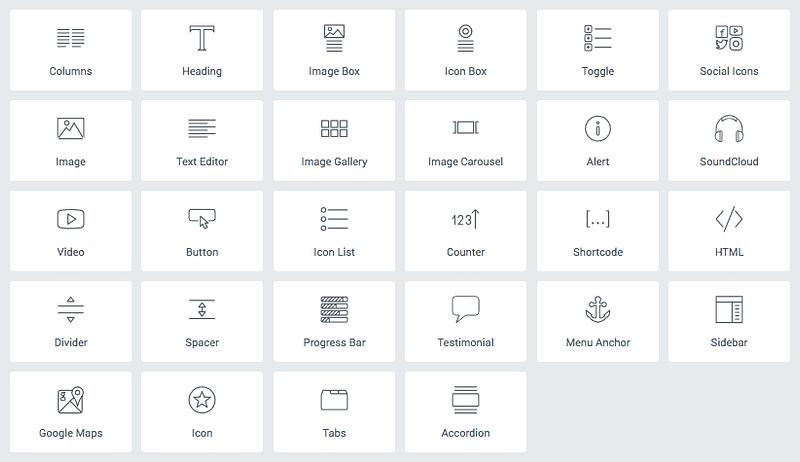 Elementor Icons