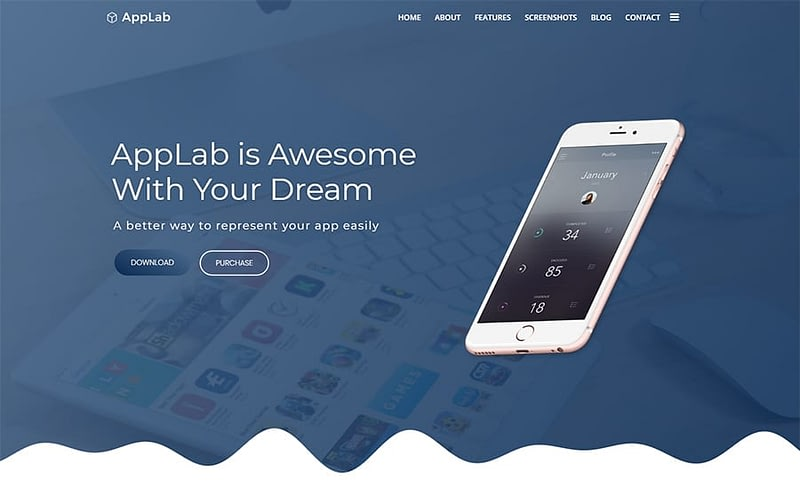 AppLab tech theme
