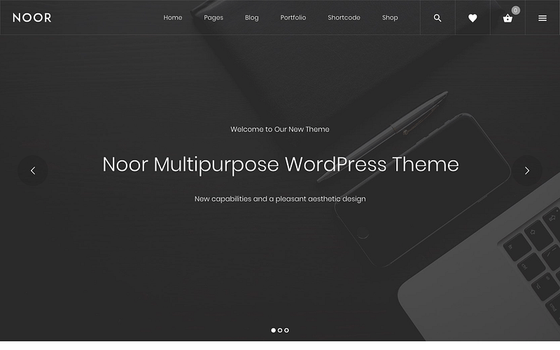 Noor Multipurpose Theme