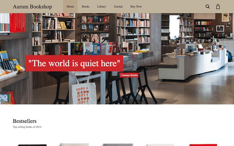 Aurum Bookstore demo