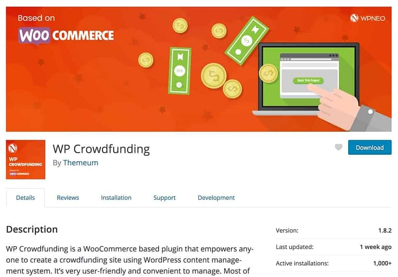 WP Crowdfunding