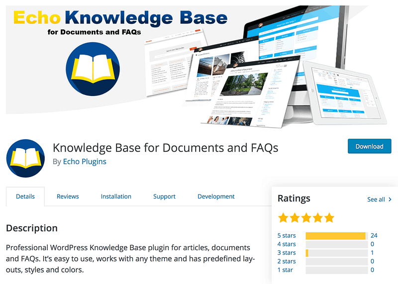 Echo Knowledge Base