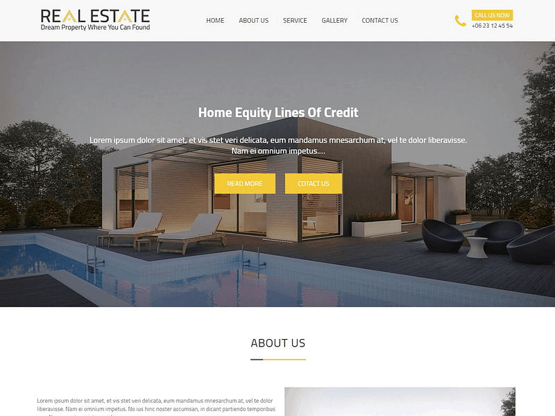 Real Estater theme for realtors