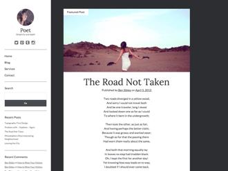 Poet WordPress theme