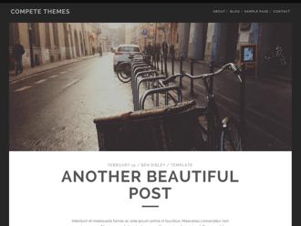 Tracks WordPress theme